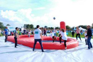 Noleggio AcroVolley la pallavolo acrobatica in tutta Italia
