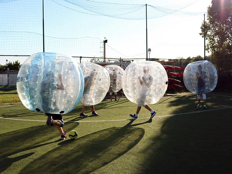 Gioca a Bubble Football in Brianza