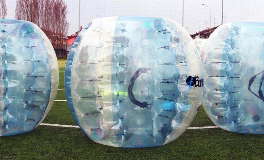 Prenota la tua partita di Bubble Football a Milano