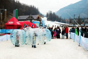 Noleggio Bubble Football su neve a Bardonecchia