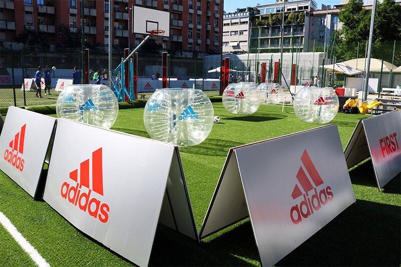 Noleggio Bubble Football a Milano e in tutta Italia