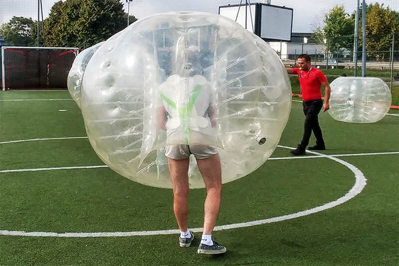 Bachelor party Bubble Soccer Milan