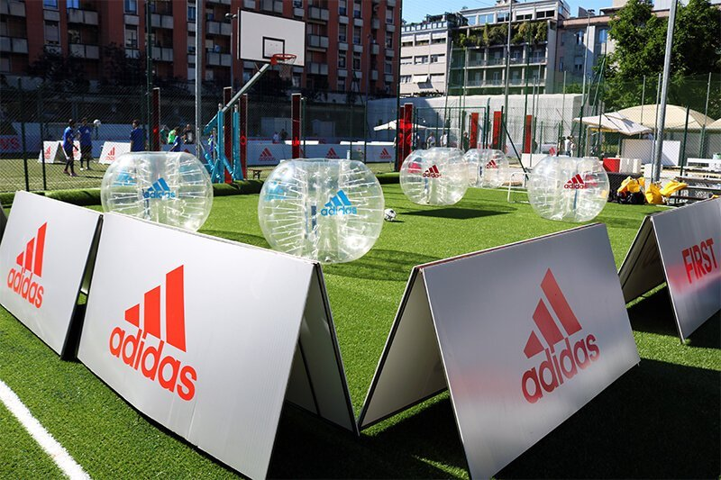 Bubble Soccer Rental all over Italy and abroad